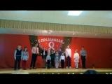 Первое выступление моего сыночка в гимназии))) Поздравление С 8 Марта))