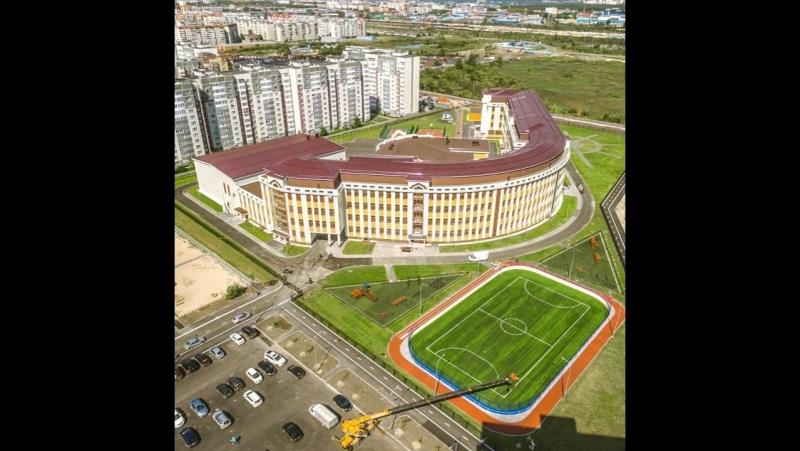 ВРЕМЯ РЕКОРДОВ Cамая большая школа