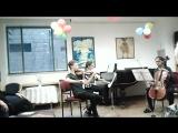 Бетховен Трио оп.1 номер 3 первая часть