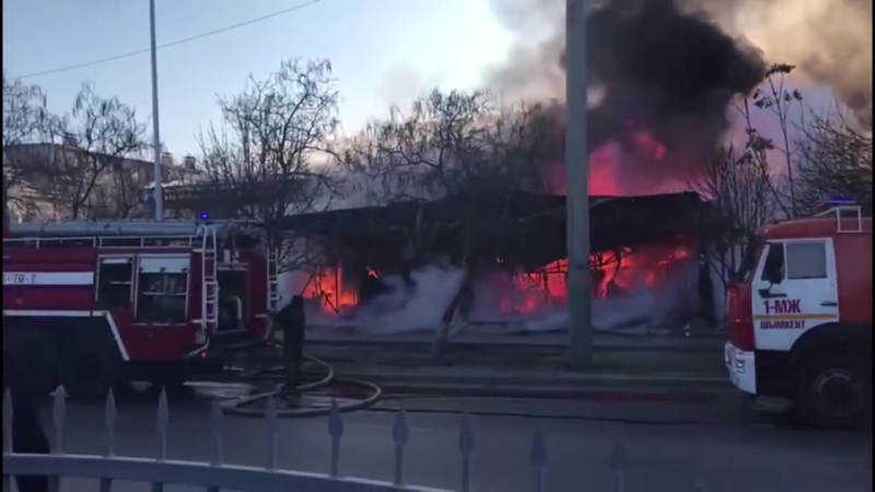 Владелец сгоревшей тойханы в Шымкенте рассказал о причинах пожара