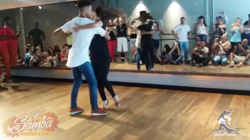 Baila Mundo Adriano Robinho e Evelin Malvares Oficina do Samba Verão 2018