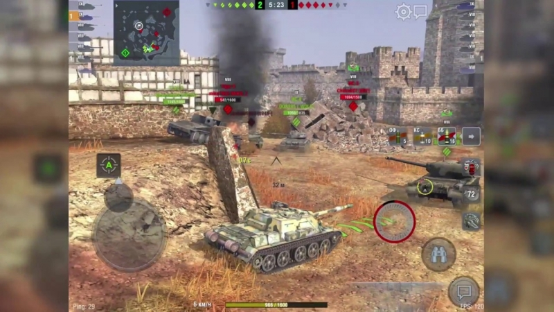 [Perfect_M1nd] WoT Blitz СУ-122-54. Танк поддержки с лютым ДПМом.