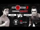 Dojo Fights 3 Luis Guillermo Aliaga vs Alessandro Gandolfo