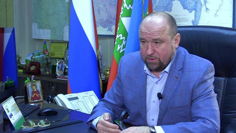 Еженедельное интервью с главой Таштагольского района Владимиром Макута