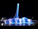 Поющий фонтан в Олимпийском парке Сочи 4