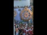Церемония омовения Чакр. Храм Ведического Планетария. Бхакти Ананта Кришна Госвами.