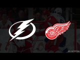 Tampa Bay Lightning Detroit Red Wings, 08.01.2018