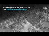 Drones capture YPG/PKK attacks on Turkey from Syria
