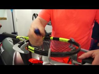 Подготовка ракетки Рафы к финалу #RG17