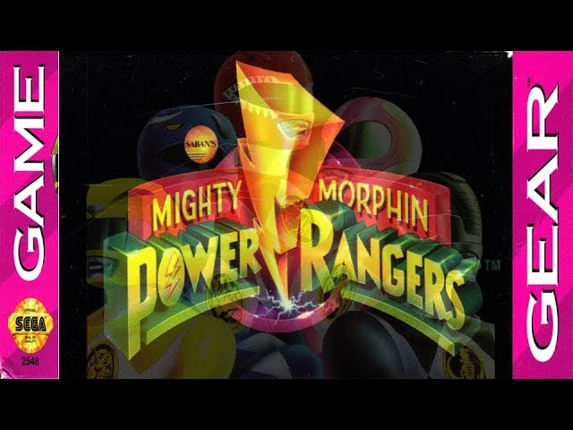 Mighty Morphin Power Rangers (Game Gear)/ longplay/ comments
