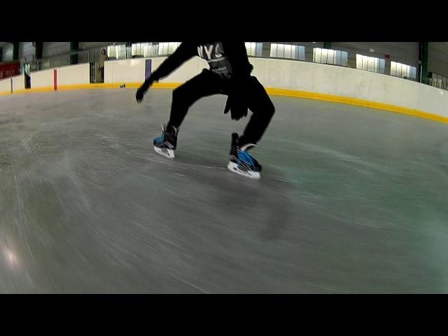 Freestyle IceSkating rozpoczęcie sezonu 2017 Kazik