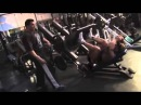Dennis Wolf Trains Quadriceps with Milos Sarcev