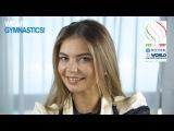 Meeting with the Ambassadors - Alina Kabaeva 2017 Rhythmic Worlds - We Are Gymnastics !