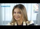 Интервью Алины Кабаевой в качестве Амбассадора ЧМ 2018 в Италии для FIG