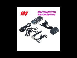 Yixiang, цифровой диктофон, 8 ГБ, Mini USB, Flash, 650Hr, WAV, MP3, 2017