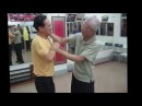 Chu Shong Tin Chisau with a late Ip Man student - Wing Chun legend!