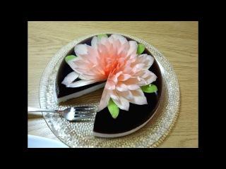 ( https://vk.com/lakomkavk) How To Make A Simple Gelatin Art Cake