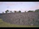 Извержение грязевого вулкана Древесный дьявол Eruption of a mud volcano devils woodyard