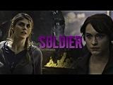 Фан-видео. Clarisse & Annabeth || Soldier