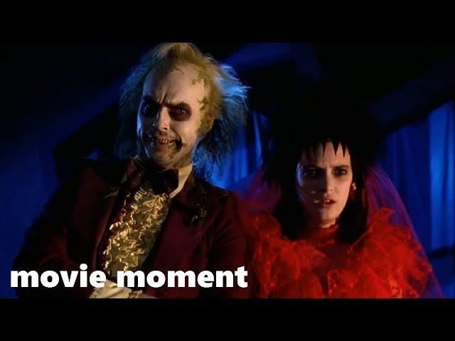 Битлджус (1988) - Пока смерть не разлучит нас (11/11) | movie moment
