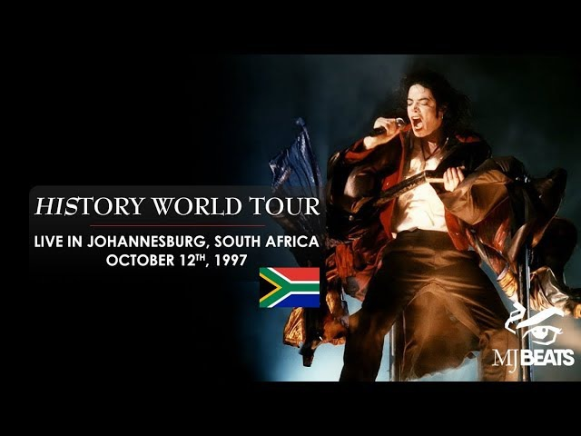 Michael Jacksons HIStory World Tour live in Johannesburg, South Africa [Full]