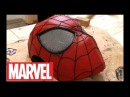Как сделать маску нового Человека Паука из бумаги (2 часть)