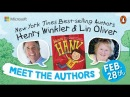 Celebrate Student Greatness with Here's Hank authors Henry Winkler and Lin Oliver
