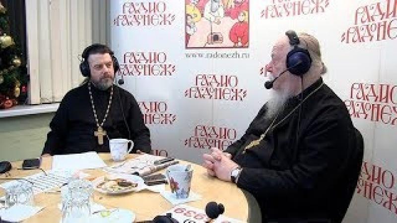 Радио «Радонеж». Протоиерей Димитрий Смирнов. Видеозапись прямого эфира от 2018.01.20
