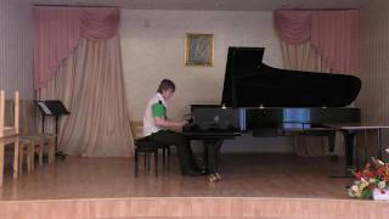 Anton Fetisov - Clementi, Etude №7 Gradus ad Parnassum