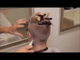 2017-42 Sara preview - long hair buzzed very short