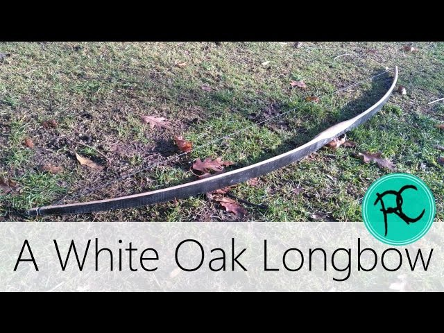 DIY white Oak Longbow Using Handtools