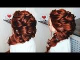ЧИСТОТА в ПРИЧЕСКЕ! Греческая Коса набок. Прически на длинные волосы? Hairstyle for Long Hair