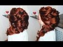 ЧИСТОТА в ПРИЧЕСКЕ! Греческая Коса набок. Прически на длинные волосы💛 Hairstyle for Lon