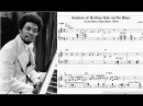 Transcription play along Herbie Hancock on No Blues live on the Steve Allen Show 1964