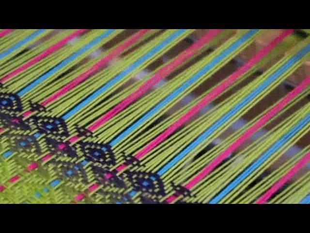 Elsie Tweed Hand-weaving