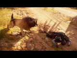 Assassin's Creed Origins - Taking Over a Camp &amp Lion Fight! No Spoilers