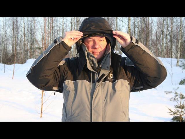 BTrace Carp Extreme (видео-обзор зимнего костюма для рыбалки, от ПИК-99 )
