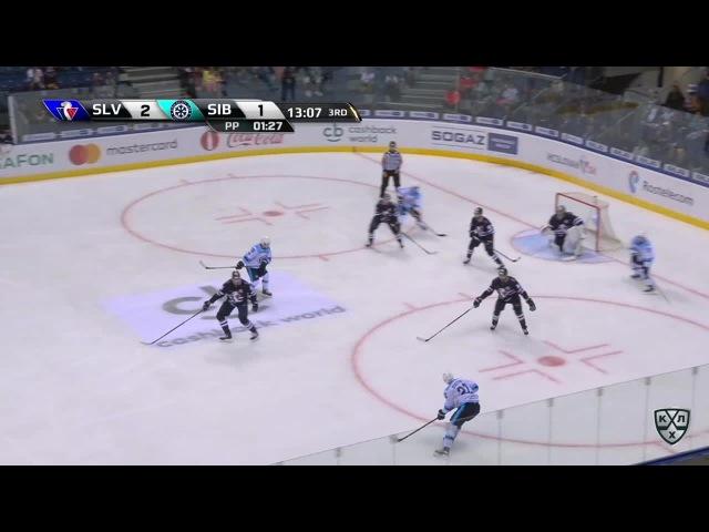 Моменты из матчей КХЛ сезона 16/17 • Удаление. Патрик Закриссон (Сибрь) получил 2 минуты за удар клюшкой 01.09
