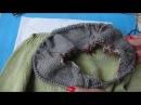 Вязание пуловера с нуля для начинающих. Часть 3. Начало работы (ряды 1-10).