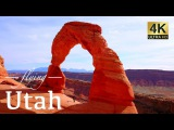 Utah By Drone - Zion, Moab, Bryce Canyon, Devil's Garden &amp Arches National Park