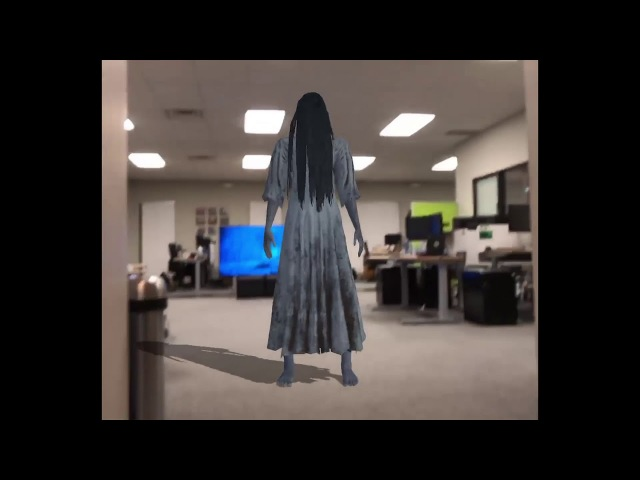 The Ring brought to life in AR