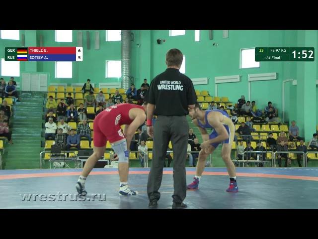 97kg. 1/4. Thiele - Sotiev