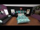 The sims 4: BTS fan bedroom