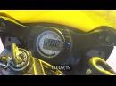 Kawasaki zx6r 636 (2003) ninja acceleration разгон 0-100 0-200