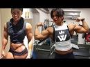 Muscle GIRL WORKOUT Sophie Arvebrink