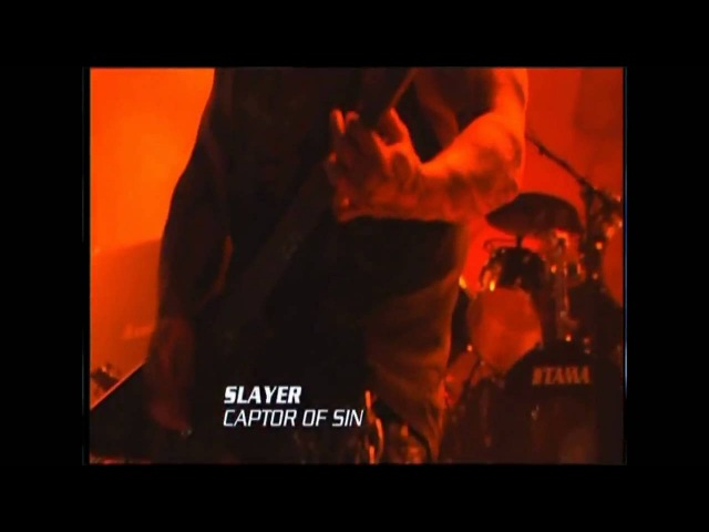 Slayer - (06) Captor Of Sin [HD] - Live at Rock am Ring 2007