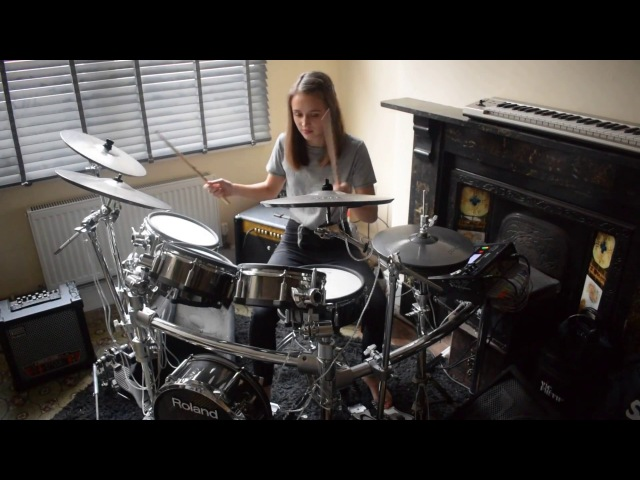 By The Way - Red Hot Chili Peppers - Drum Cover - Ella Hall