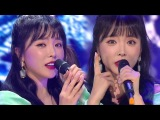 《EXCITING》 HONG JIN YOUNG(홍진영) - GOOD BYE(잘가라) @인기가요 Inkigayo 20180225
