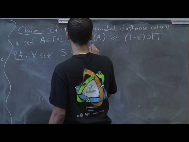 Advanced Algorithms (COMPSCI 224), Lecture 12