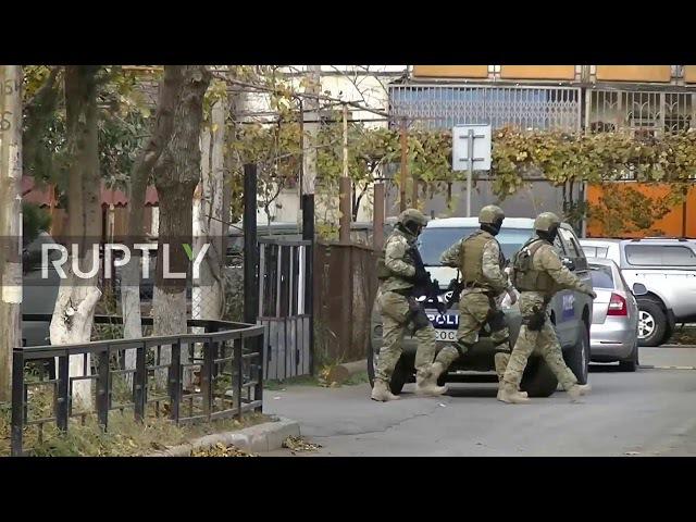 Georgia Blast and gunfire in Tbilisi amid counter terror
